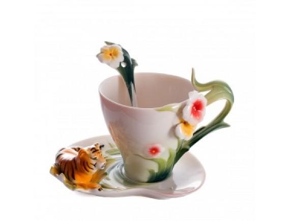 """Чайный набор """"Тигровый цвет"""""""