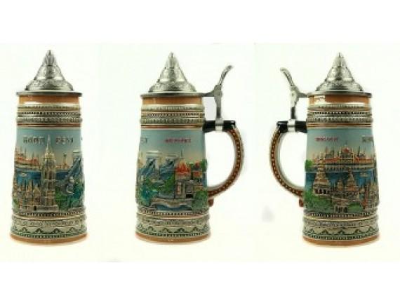 """Пивная кружка """"Будапешт"""" 750мл"""