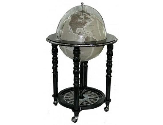 Глобус бар с кристаллами Swarovski