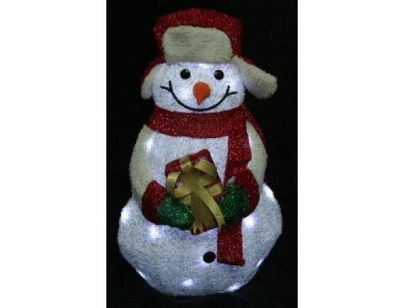 """""""Снеговик"""" с LED-подсветкой"""