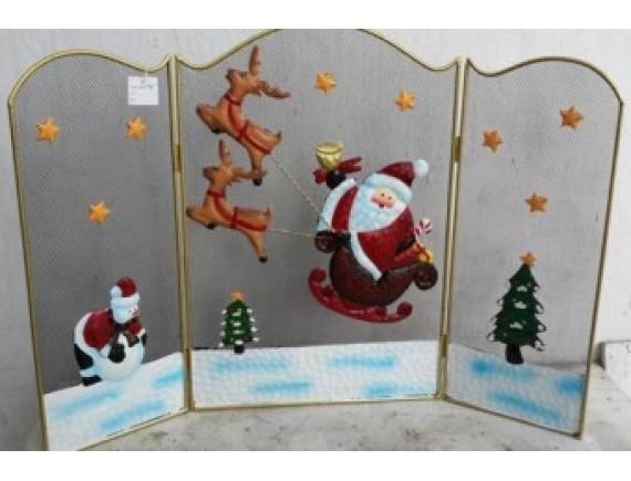 """Решетка для камина """"Дед Мороз"""""""