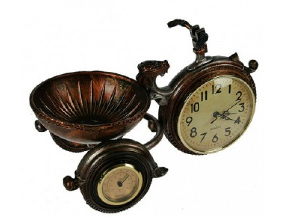 """Часы-термометр """"Велосипед"""""""