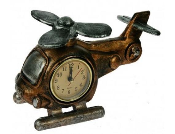 """Часы-термометр """"Вертолет"""""""