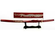 Меч самурайский на подставке