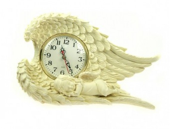 """Часы настольные """"Ангелочек"""""""