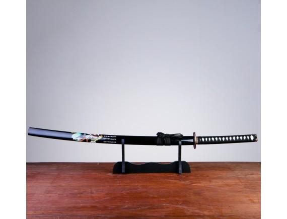 """Меч самурайский - катана """"Хатори Ханзо"""" на подставке"""