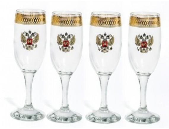 """Набор для шампанского """"Герб"""""""