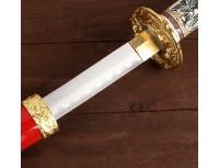 """Набор мечей - катана """"Красный дракон"""" на подставке 60/90/108 см"""