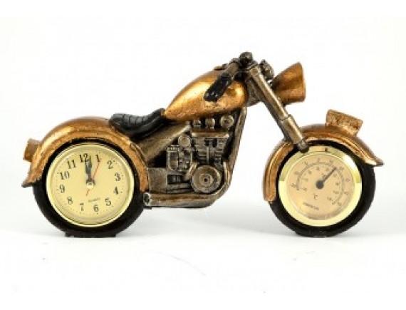 """Часы-термометр """"Мотоцикл"""""""