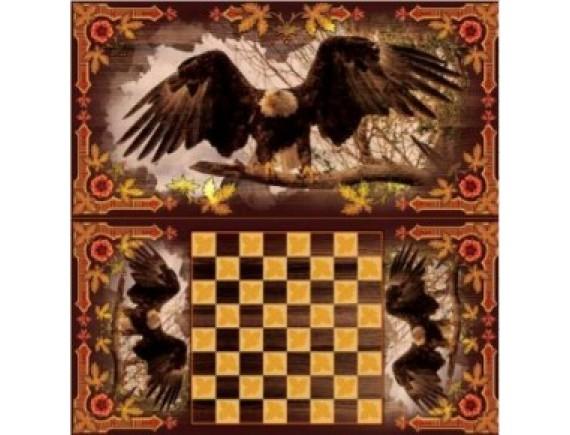 """Игра настольная """"Орел"""": нарды, шашки"""