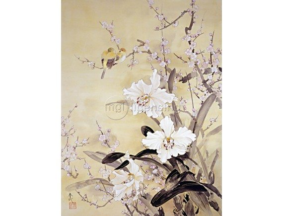 Картина на холсте - Цветущая весна