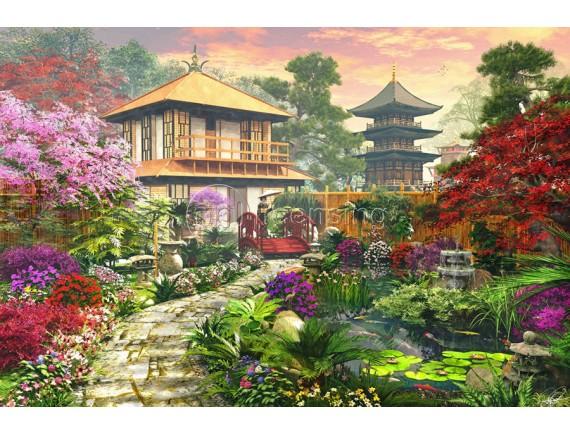 Картина на холсте - Японский сад